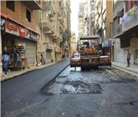 محافظ الجيزة يتفقد أعمال تطوير شارع فاطمة رشدي بالعمرانية