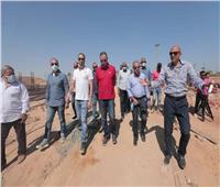 محمود الخطيب يتفقد المشروعات الإنشائية بفرع النادي الأهلي في «زايد»