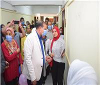 رئيس جامعة سوهاج يفتتح «بانوراما» الأنشطة الطلابية بكلية التمريض