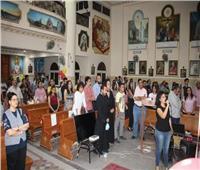 كنيسة «العذراء والأم تريزا» بعزبة النخل تحتفل بالخريجين