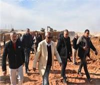 نجاح توجيه مياه الأمطار إلى الحدائق لمواجهة السيول بالقاهرة الجديدة