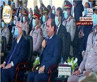 فيديو| الرئيس السيسي: قوة جيشنا عظيمة.. ولا يستطيع أحد الاعتداء على مصر