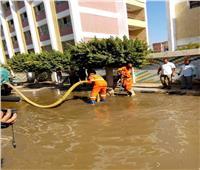 محافظة القليوبية تجري مناورة ضمن الاستعدادات لتعامل مع الأمطار