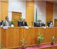 مسابقة بجامعة المنوفية لتطبيق الإجراءات الاحترازية في مكافحة كورونا