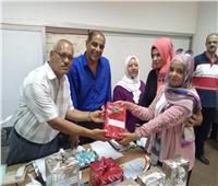 تكريم الأمهات المثاليات وتوزيع جوائز المسابقة الثقافية بشمال سيناء