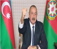 الرئيس الأذربيجاني يعلن عن تحرير مدينة زنكيلان و6 قرى