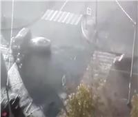 فيديو حادث مروري لحافلة تنقل أطفالا في سان بطرسبورغ روسيا