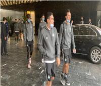 بيراميدز يغادر فندق الإقامة في طريقه لملعب محمد الخامس