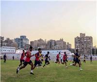 محمود عبدالعزيز يخوض تدريبات تأهيلية في مران الزمالك
