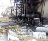 صور|وفاة الحالة الثامنة فى انفجار غلاية مصنع «لحوم الإسماعيلية»