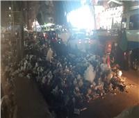 تلال «القمامة» تكشف «إهمال» المحليات فى «شبرا الخيمة»