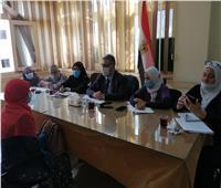 استمرار أعمال لجنة تدعيم التضامن الاجتماعي بالقليوبية بالرائدات الريفيات والحضريات