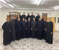 «بطريرك الكاثوليك» يجتمعمع كهنة إيبارشية المنيا