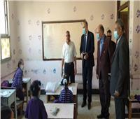 مدير تعليم القاهرة يتفقد مدارس مصر القديمة