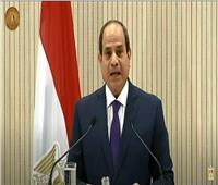 «السيسي» يطالب بالتصدي للسياسات الداعية للإرهاب