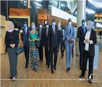 وزير التعليم العالي بدولة جنوب السودان يزور مكتبة الإسكندرية