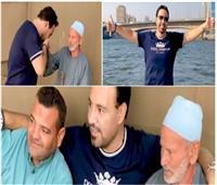 فيديو| «مصر بركتها فيكم».. عاصي الحلاني يتناول «فطير مشلتت» على النيل