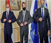 20 مكسب اقتصادي للتعاون الثلاثي بين مصر وقبرص واليونان
