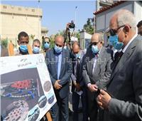 صور| افتتاح مجمع مواقف السرفيس بالمريوطية وميدان الجيزة