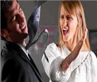 فيديو | زوجة تصفع زوجها لرفضه ارتداء الكمامة