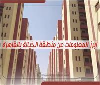 إنفوجراف  أبرز المعلومات عن منطقة الخيالة بالقاهرة