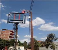 لمنع الحوادث .. رفع كفاءة الإنارة وصيانة الكهرباء فى القليوبية