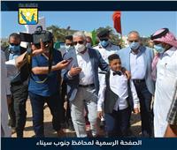تفاصيل زيارة محافظ جنوب سيناء لمدرسة الصم والبكم