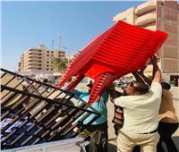صور| ضبط مقهى يقدم الشيشة للمواطنين في الجيزة