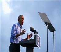 في أول ظهور له بحملة بايدن.. أوباما يشن هجوما حادا على ترامب
