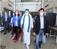 صور| وصول 4 وزراء لـ«مطار سوهاج» لافتتاح مشروعات «تحيا مصر» بطهطا