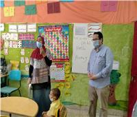 وكيل تعليم الغربية يتابع عددا من المدارس لمتابعة انتظام الدراسة