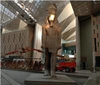حكايات| عملوها «الفراعنة الجدد».. الشمس تعود لـ«وجه رمسيس» بالمتحف الكبير