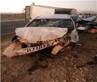 صور| ننشر أسماء المصابين في حادث تصادم سيارتين بطريق قنا- الأقصر