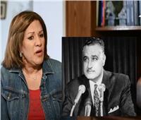 هدى عبد الناصر تكشف كواليس خطاب التنحي