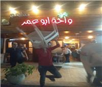 صور| حي العجوزةيضبط مقهى يقدم الشيشة وسنتر تعليمي