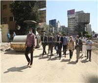 صور| 10 ملامح لتطوير شوارع المهندسين بالجيزة