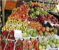 استقرارأسعار الفاكهة في سوق العبور اليوم ٢٣ أكتوبر