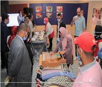 معرض فني عن التراث الأثري لـ«مدينة فوة» في مكتبة الإسكندرية