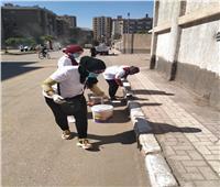 صور| أسيوط تطلق مبادرة «مصر جميلة» لتنظيف الشوارع