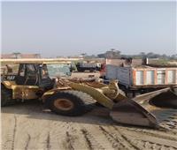 وزارة الري تواصل حملات إزالة التعديات على كافة المجاري المائية