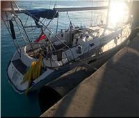 القوات البحرية المصرية تنقذ مركب يرفع العلم التركى فى عمق البحر المتوسط