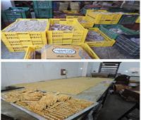 ضبط 6 أطنان حلوى مولد منتهية الصلاحية بالقليوبية