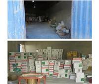 صور| ضبط مصنعين غير مرخصين لإنتاج الكمامات في كفر الشيخ