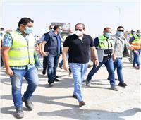 شاهد | «السيسي» يتفقد عددا من مشروعات التطوير بشبكة الطرق بالقاهرة الكبرى