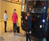 حافلة الأهلي تصل إلى استاد القاهرة لمواجهة الوداد