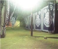 صور| تجهيزات المقار الانتخابية بمدينة الصف لاستقبال المواطنين