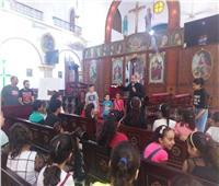 استمرار فعاليات اجتماع شباب «إيبارشية طيبة» في الرزيقات