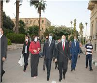 الخشت: مستعدون لإقامة فرع لجامعة القاهرة في «جوبا»