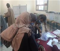 انتخابات النواب 2020| تزايد أعداد الناخبين في لجان مدرسة هدى شعراوي بالدقي
