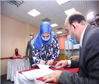 انتخابات النواب 2020| وزيرة التضامن الاجتماعى تدلى بصوتها بالدقي